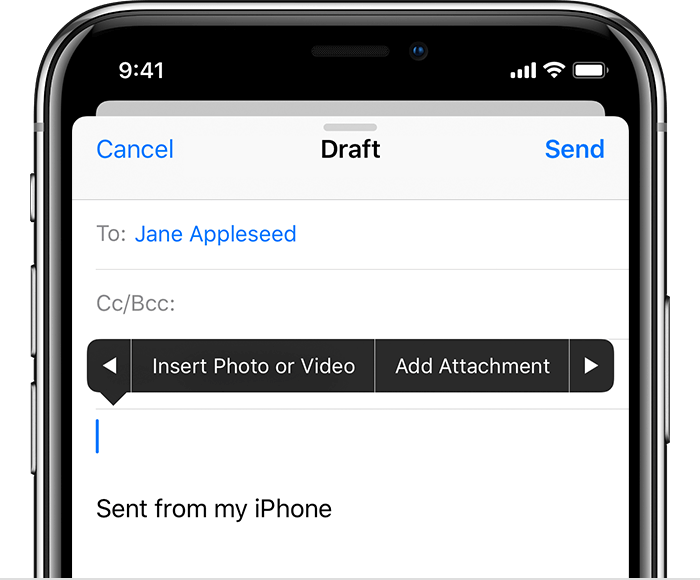 A screenshot of composing an email and how to attach the file