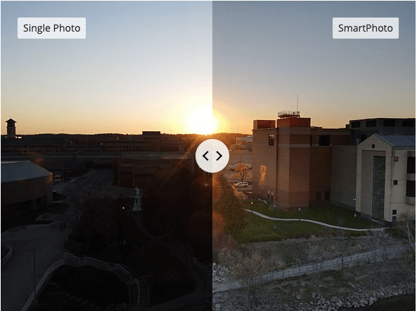 An image of single photo vs smartphoto.