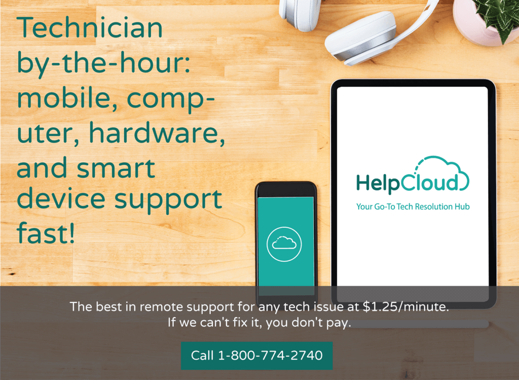 The best in remote support. Connect with us from the comfort of your own home and let us fix the issue.