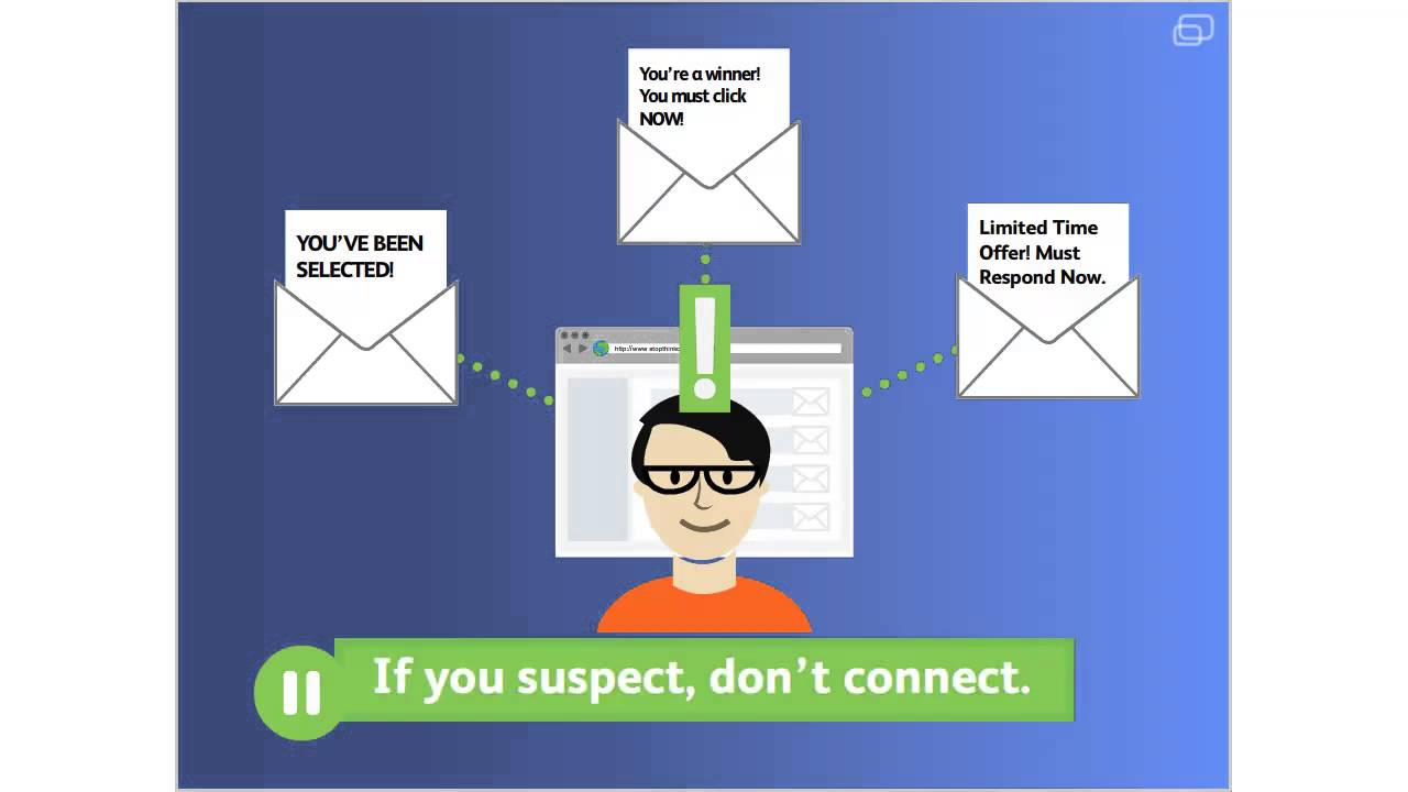 Infographic: If you suspect a fraud, don't connect!
